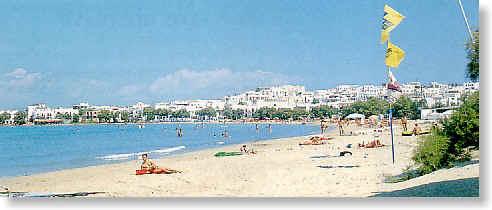 Saint George Beach In Naxos Town